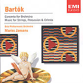 Bartok: Concerto for Orchestra, etc / Mariss Jansons, et al