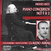 Liszt: Piano Concertos no 1 & 2 / Arrau, Rosbaud, et al