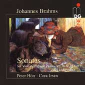 SCENE  Brahms: Sonatas for Cello and Piano / Horr, Irsen
