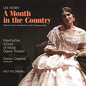 Lee Hoiby: A Month in the Country / Steven Osgood