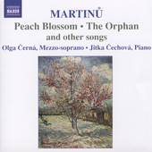 Martinu: Peach Blossom, etc / Cern&aacute;, Cechov&aacute;