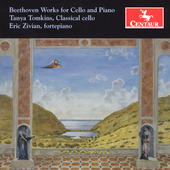 Beethoven: Works for Cello and Piano / Tomkins, Zivian