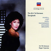 The Kiri Te Kanawa Songbook [Australia]