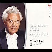 Theo Adam sings Sacred Arias of J.S. Bach