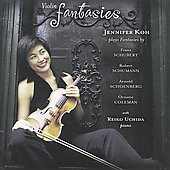 Violin Fantasies - Schubert, Schumann, etc / Koh, Uchida