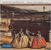 Kozeluch: Piano Concertos / Dratva, Dohn&#225;nyi, et al