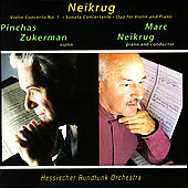 Neikrug: Violin Concerto, etc / Zukerman, et al