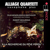 Saxophone Plus - Mendelssohn, et al / Bae, Alliage Quartet