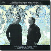 Schubert: Music for Violin and Piano / Hadjipetkov, Sheng