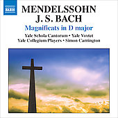 Mendelssohn, Bach: Magnificats in D major