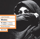 Cherubini: Medea / Zaccaria, Carlyle, Vickers, Callas
