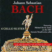 J.S. Bach: 6 Cello Suites / Michael Kevin Jones, 1667 Stradivarius cello
