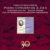 Saint-Sa&euml;ns: Piano Concertos Nos. 2, 4 & 5