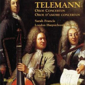 Telemann: Oboe Concertos; Oboe d'Amore Concertos