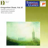 Gregorian Chant Vol 2 / Schola Cantorum of Amsterdam