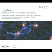 Luigi Nono: Risonanze erranti; Post-prae-ludium per Donau