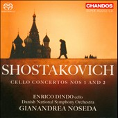 Shostakovich: Cello Concertos Nos. 1 and 2 / Enrico Dindo, cello