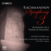 Rachmaninov: Symphony No. 3; Rhapsody on a Theme of Paganini / Sudbin, Shui