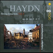 Haydn: String Quartets, Vol. 5: Op. 64/3-5 / Leipzig Quartet