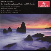 Duo Concertos for Alto Saxophone, Flute and Orchestra / Greg Banaszak, alto sax. Katherine DeJongh, flute