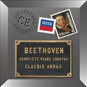 Beethoven: The Complete Piano Sonatas / Claudio Arrau, piano