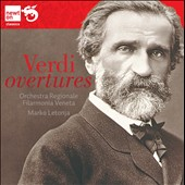 Verdi: Overtures, Preludes and Sinfonias for orchestra / Marko Letonja