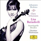 Johannes Brahms & Clara Schumann / Lisa Batiashvili, violin