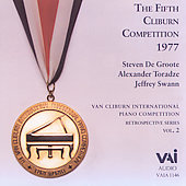 Van Cliburn Competition Retrospectives Vol 2 - 1977