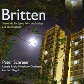 Britten: Serenade for tenor, horn & strings; Les Illuminations / Peter Schreier, tenor; Gunther Opitz, horn