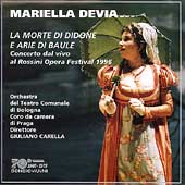 Rossini: La Morte Di Didone, Aria Di Baule / Devia, Carella