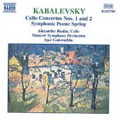 Kabalevsky: Cello Concertos no 1 & 2, etc / Rudin, Golovchin
