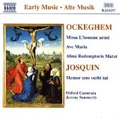 Early Music - Ockeghem: Missa L'hommé;  Josquin / Summerly