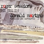 Sessions: Sonatas for Piano no 2 & 3;  Martino: Fantasies