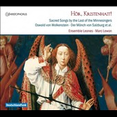 Hör, Kristenhait! - Sacred Songs by the Last of the Minnesingers / Sabine Lutzenberger & Raitis Grigalis, voice; Baptiste Romain, Vielle, bagpipes