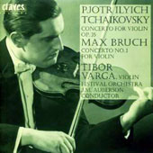 The Tibor Varga Collection, Vol. 3: Tchaikovsky & Bruch Concertos / Tibor Varga, violin; Festival Orch.