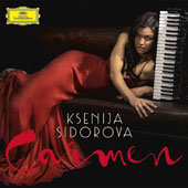 Carmen - the melodies re-imagined in captivating Oriental colors and the irresistible rhythms of Latin American dance / Ksenija Sidorova, accordion with Nuevo Mundo, Itamar Doari, Reentko Dirks, Michael Abramovich