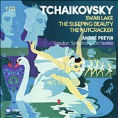 Tchaikovsky: Ballets - Swan Lake; The Sleeping Beauty; The Nutcracker / André Previn, London SO (rec. 1972-76) [7 CDs]