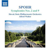 Louis Spohr (1784-1859): Symphonies Nos. 2 and 9 / Alfred Walter, Slovak State Philharmonic Orchestra