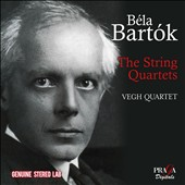 Bartók: The String Quartets (1954 Stereo) / Végh Quartet