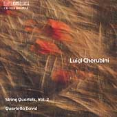 Cherubini: String Quartets Vol 2 / Quartetto David