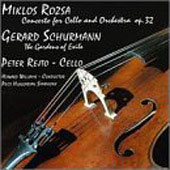 Rózsa: Cello Concerto;  Schurmann / Rejto, Williams, et al
