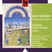 Gerber: Piano Works / Catherine Aubert-Tackett