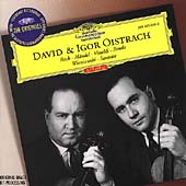 David & Igor Oistrach - Bach, H&#228;ndel, Vivaldi, Benda, et al
