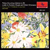 Gieseking: Quintet in Bb;  Chopin, Schumann / Cox, Georg