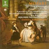 Mozart: Don Giovanni - Highlights / Barenboim, Furlanetto, Tomlinson, Salminen, Meier, Berlin PO, et al