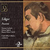 Puccini: Edgar / Cillario, Luchetti, Sighele, et al
