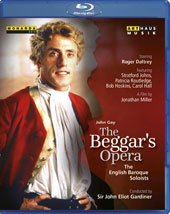 John Gay (1685-1732): The Beggar's Opera, staged for television / Roger Daltrey, Stratford Johns, Patricia Routledge, Carol Hall, Rosemary Ashe. English Baroque Soloists, Gardiner [Blu-ray]