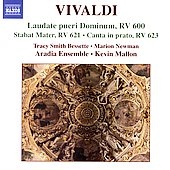 Vivaldi: Laudate pueri Dominum, etc / Mallon, et al