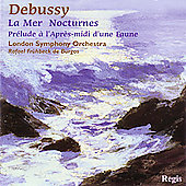Debussy: La mer, Nocturnes, etc / Fr&uuml;hbeck de Burgos