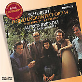 Schubert: The Trout Quintet / Brendel, Cleveland Quartet